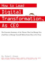 Digital Transformation by the CEO