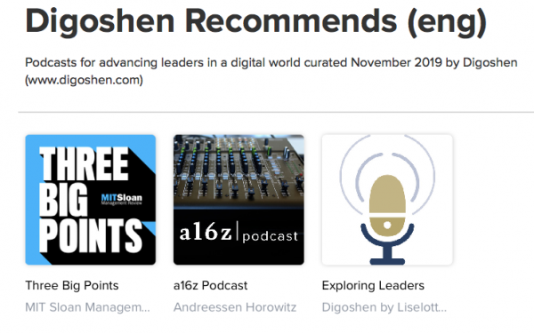 recommended podcasts